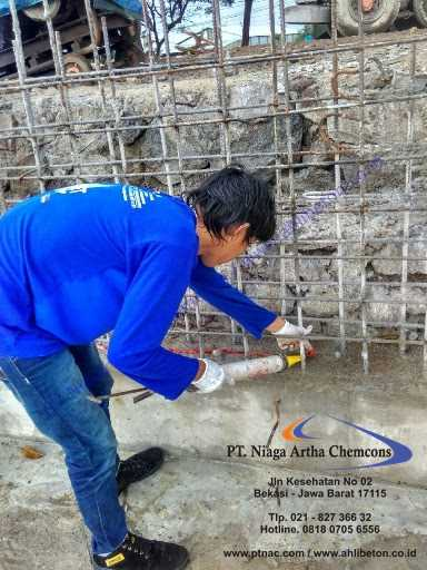 Pasang Waterstop Hidrophilic Swellable