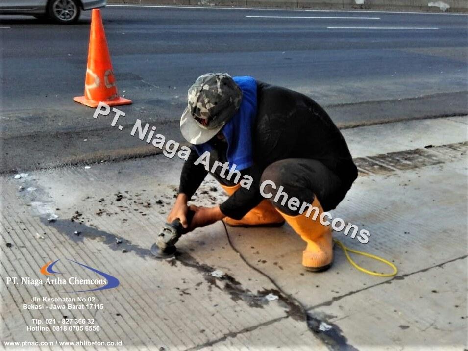 Repair Retak Pada Beton