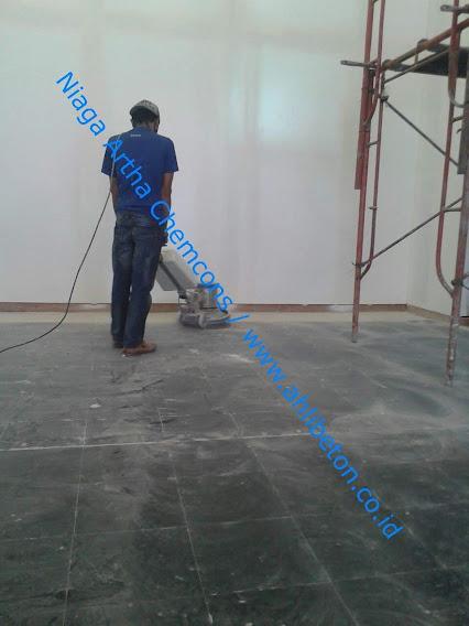 Proses Grinding Lantai Beton