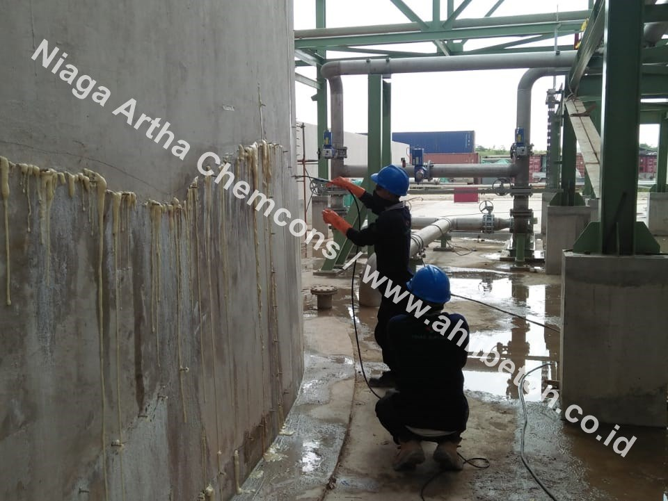 Menangani Bocor di Watertank