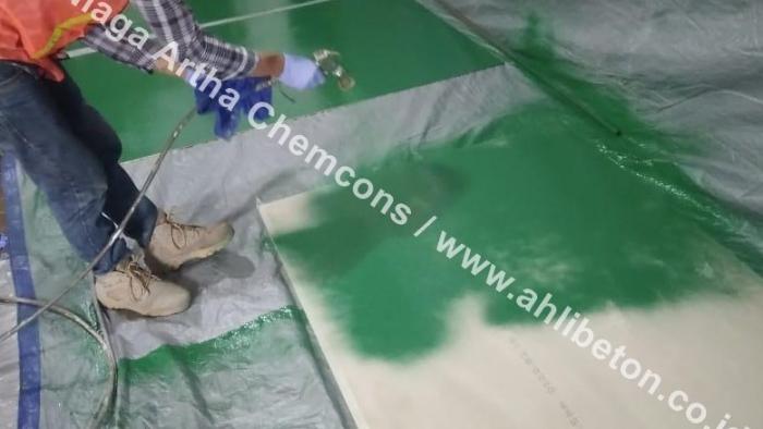 Jasa Coating Epoxy Lantai Spray