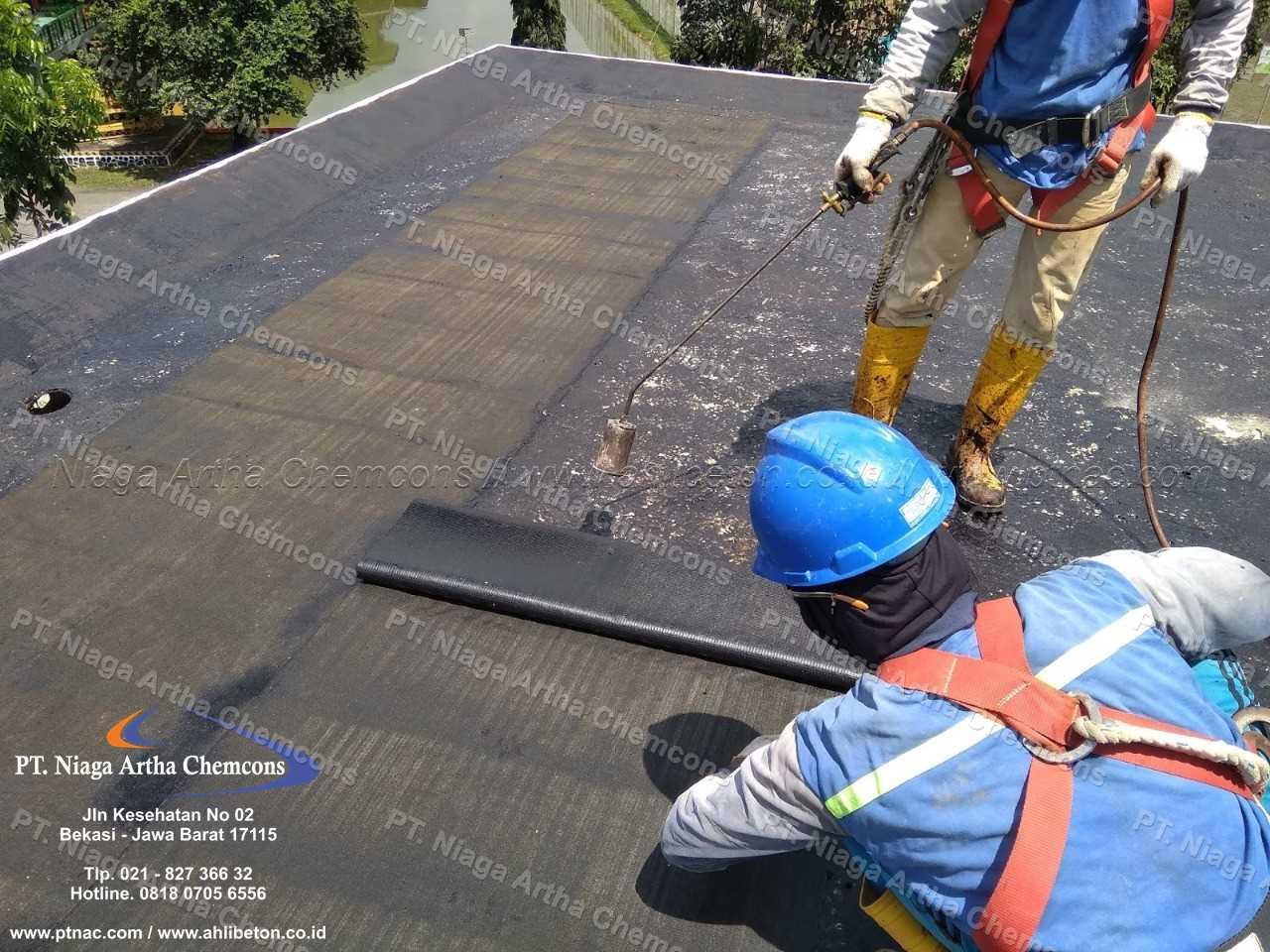 Kontraktor Waterproofing Membrane Untuk Atap