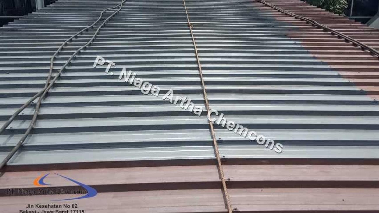 Perbaikan Atap Metal Berkarat