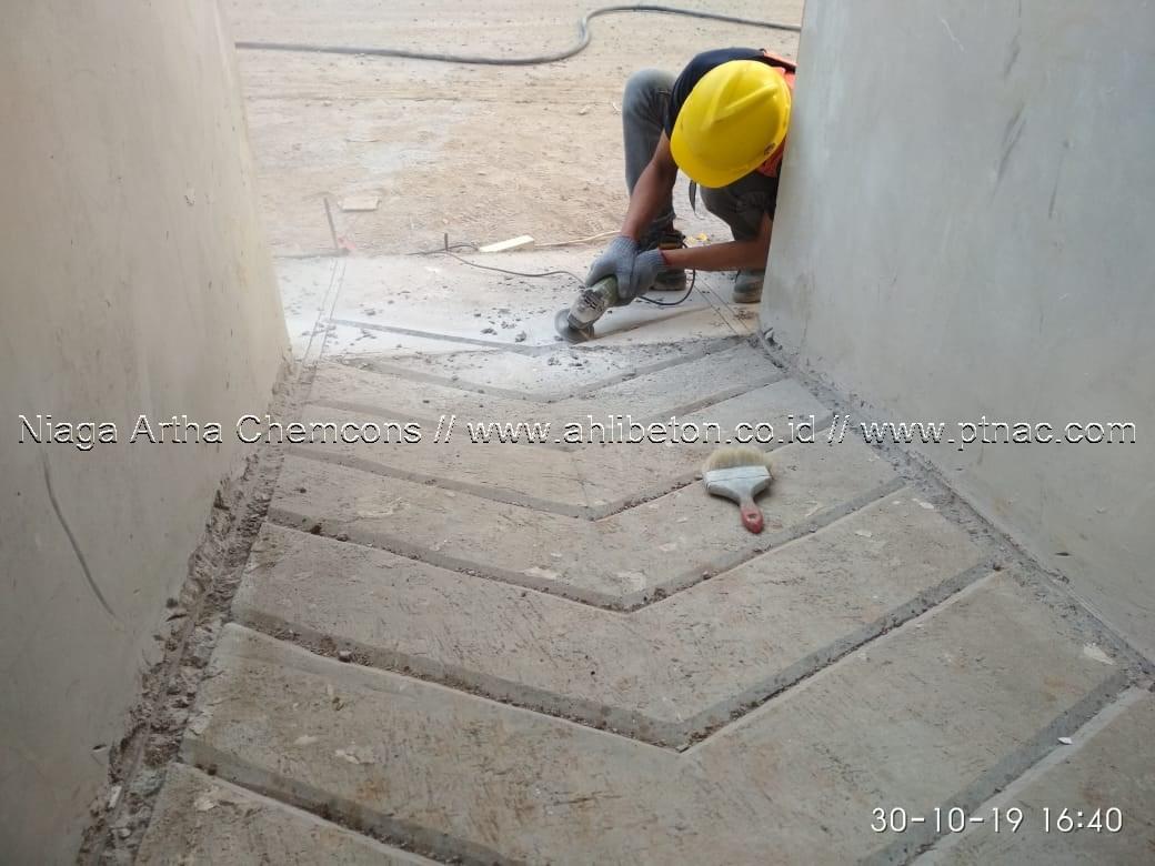 Jasa Cutting Concrete Area Parkir
