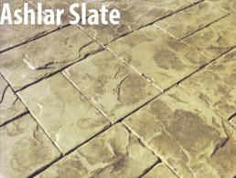 Stamped Concrete Jenis Ashlar Slate