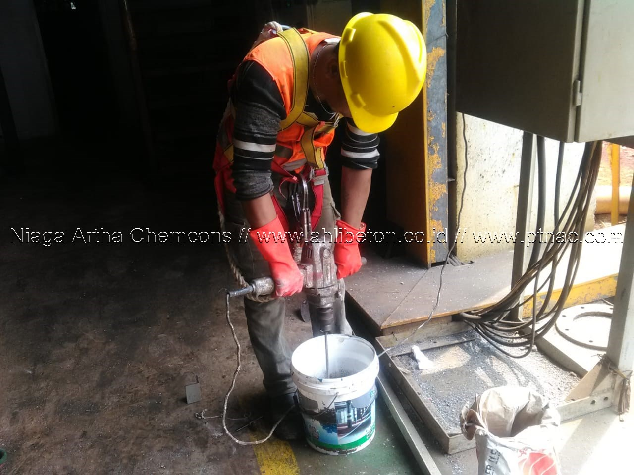 Mixing Material Gouting Epoxy