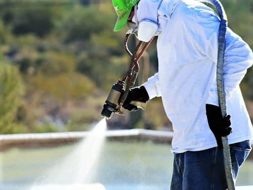 Metode Spray Dalam Waterproofing Poly urea