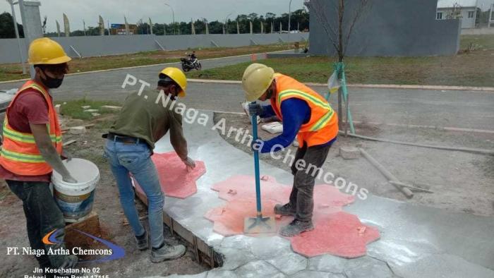 Kelebihan Stamped Concrete