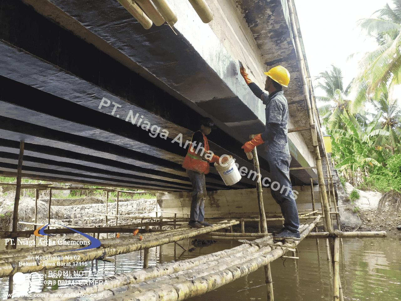 Aplikator Perkuatan Beton Jembatan