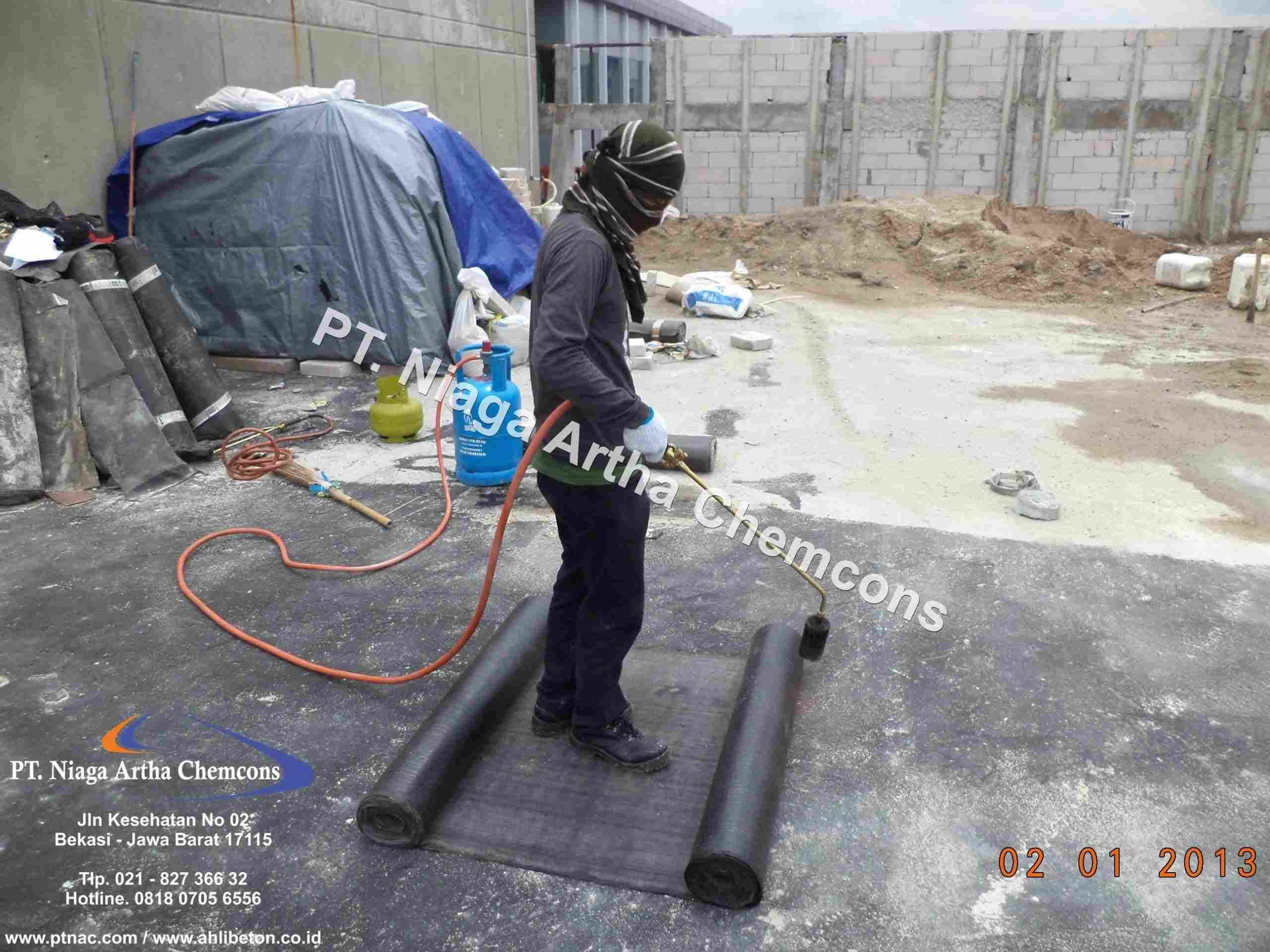 Aplikator Waterproofing Membrane Bakar