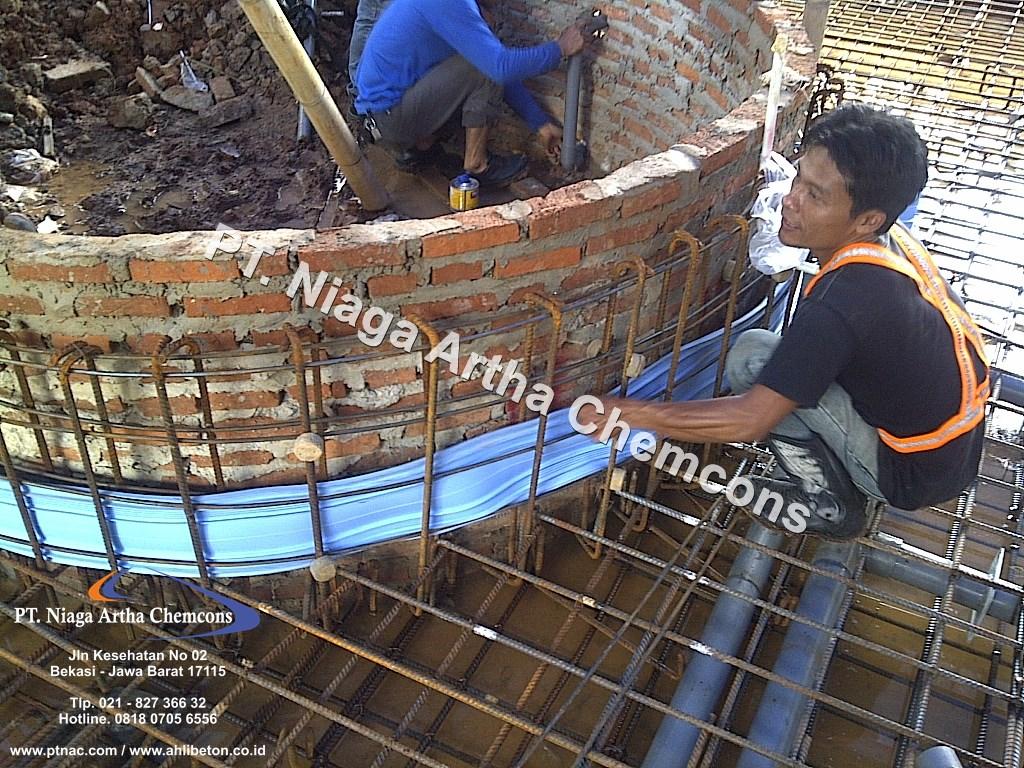 Jasa Pasang Waterstop PVC