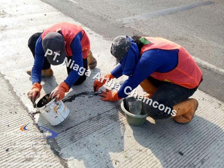 Kontraktor Perbaikan Beton Area Jalan Tol