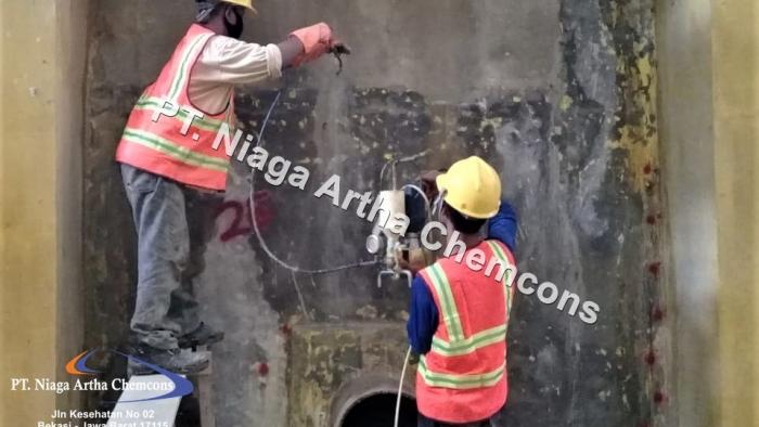 Jasa Injeksi Bocor Beton
