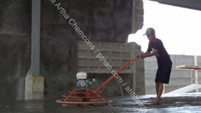 Proses Pengaplikasian Floor Hardener