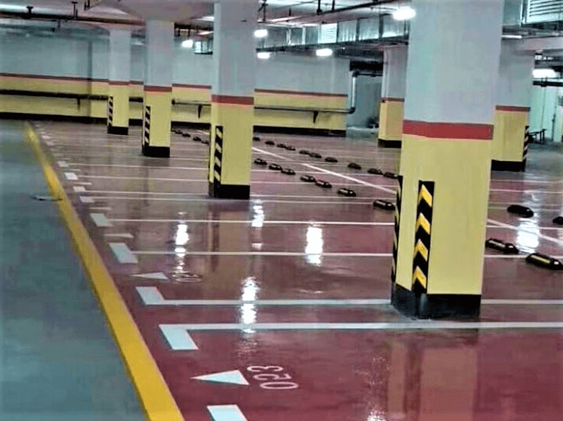 Epoxy Lantai Parkir