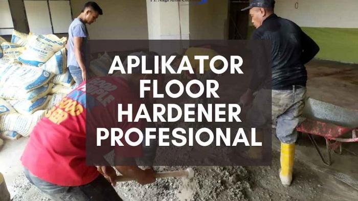 Aplikator Floorhardener Terbaik