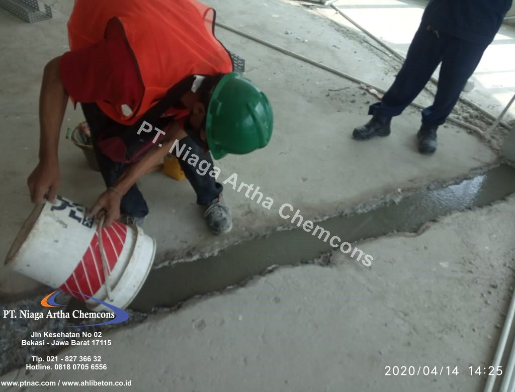 grouting beton keropos