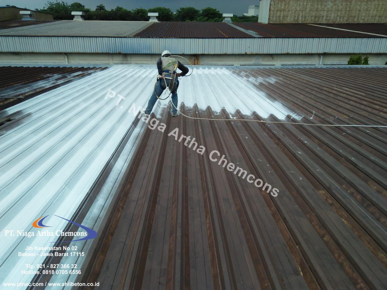 Perbaikan Korosi Atap Metal