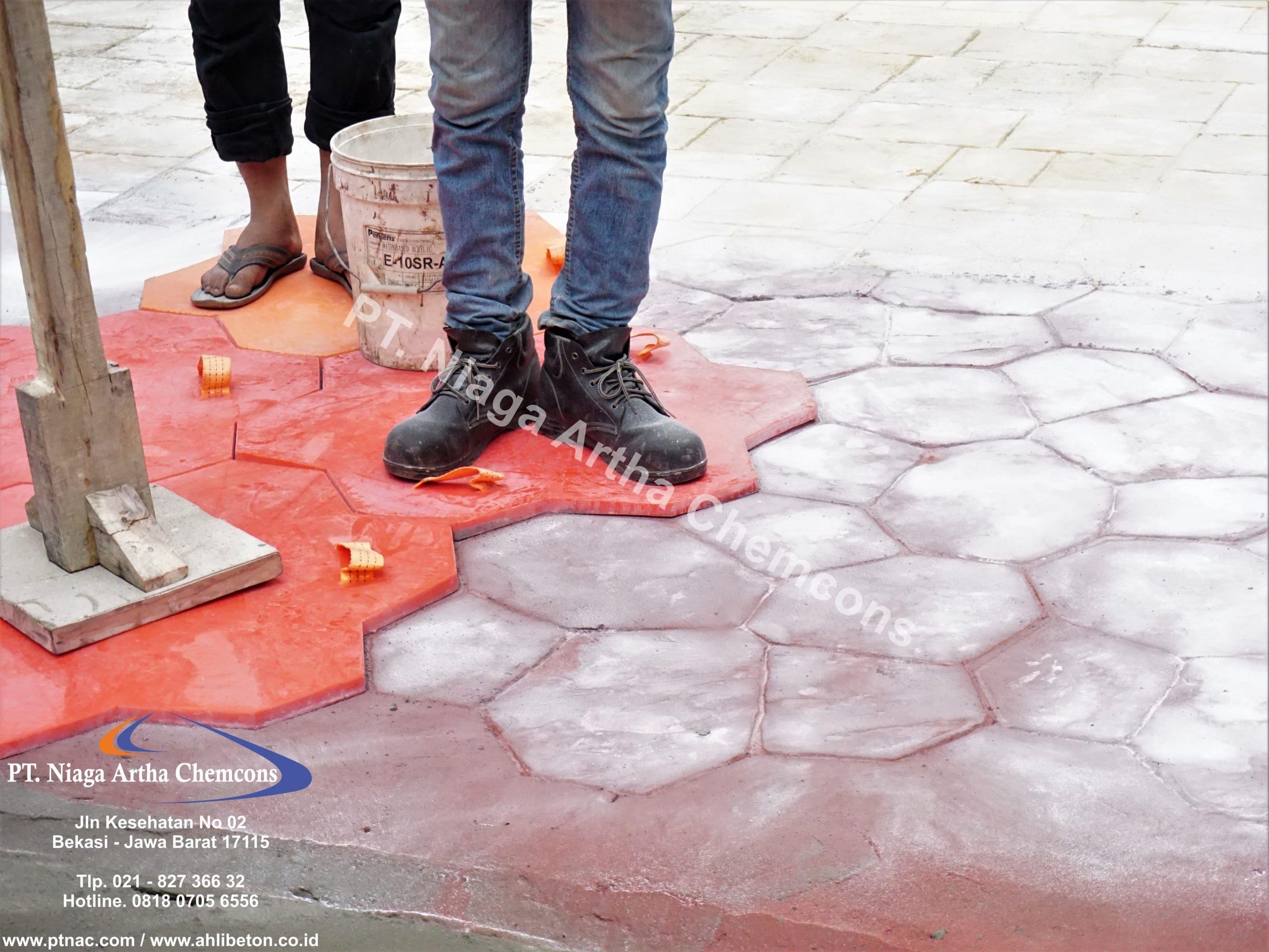 Kontraktor Stamped Concrete