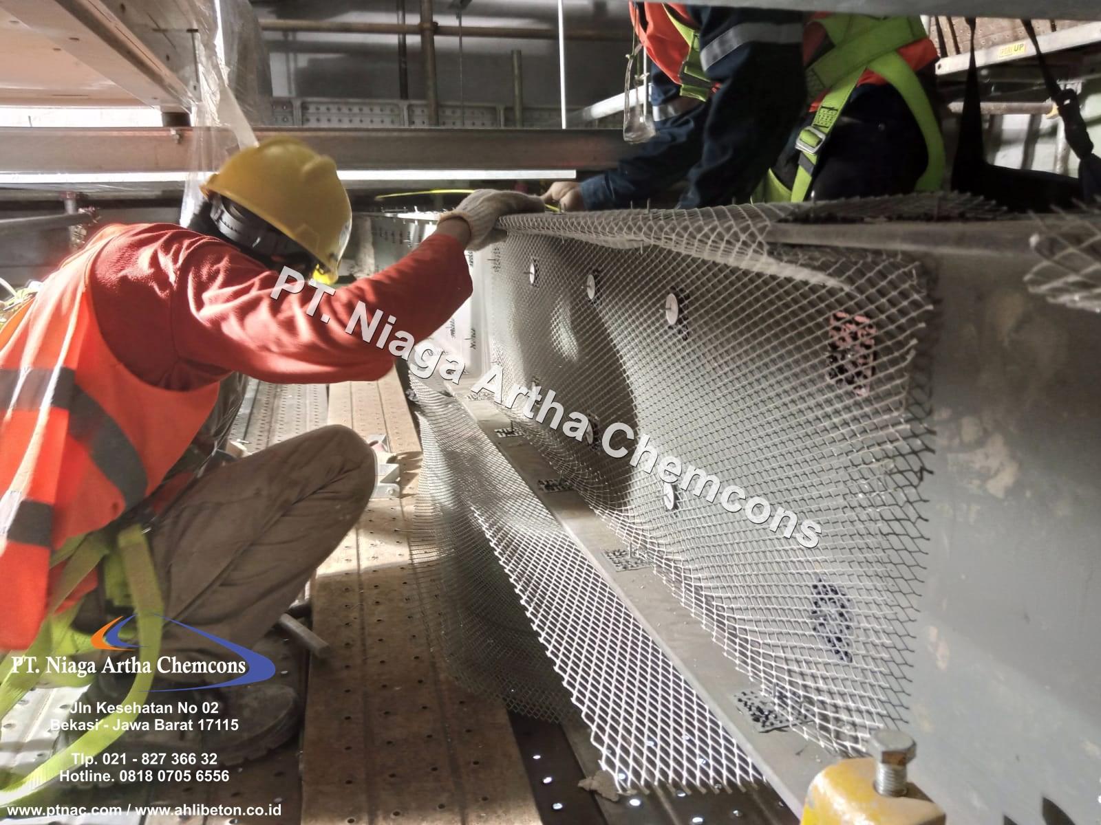 Fire Proofing Struktur Beton